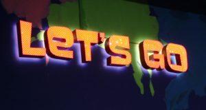 Купить светящиеся буквы для рекламной вывески с подсветкой LED