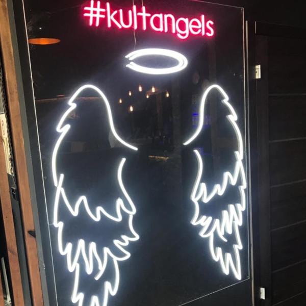 Вывеска из неона <br/>Крылья ангела