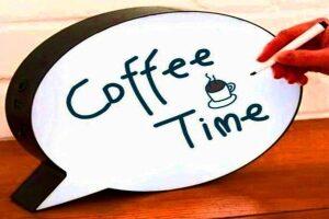 Световой короб для кафе