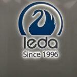 Логотип с контражуром <br/>«Леда»