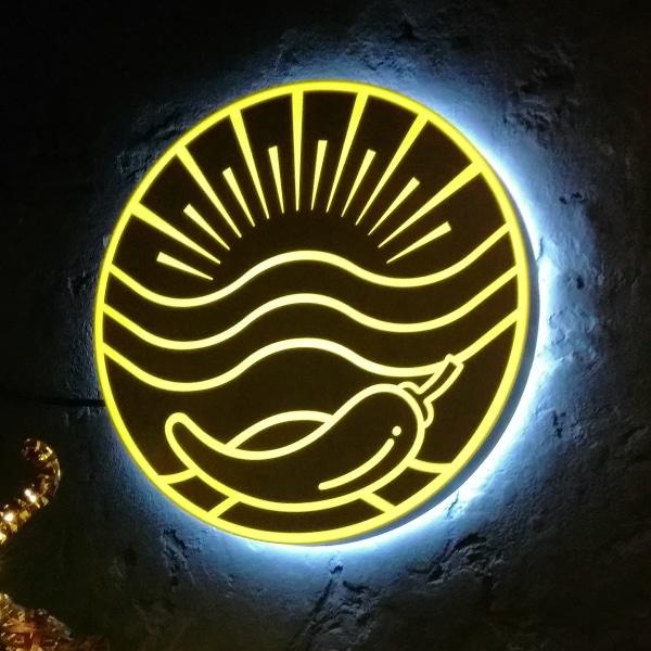 Лайтбокс с подсветкой <br/>для ресторана